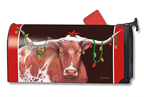 MailWraps Cowboy Christmas Mailbox Cover 01247
