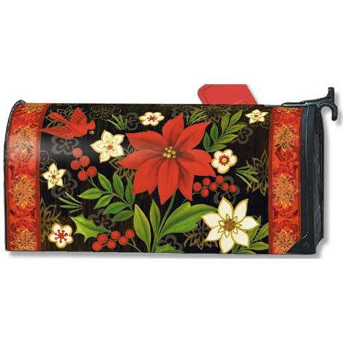 Mailwraps Christmas Flora Mailbox Cover 02635