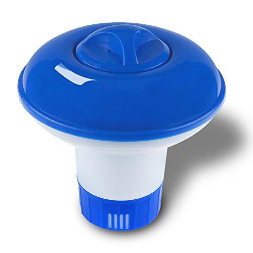 Homga Chlorine Dispenser Floating Chlorine Tablets DispenserLarge Capacity Pool Chemical Dispenser for Indoor Outdoor Swimming Pools Spa