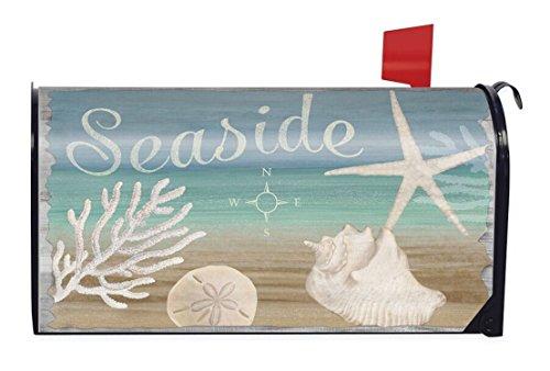 Seaside Summer Magnetic Mailbox Cover Nautical Starfish Beach Briarwood Lane