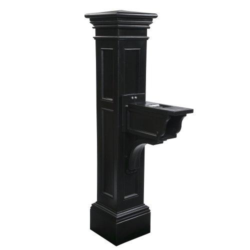 Mayne 5805-BK Liberty Mailbox Post Black