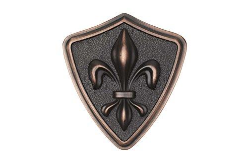 Architectural Mailboxes 3620ORB Aluminum Oil Rubbed Bronze Fleur De Lis Emblem