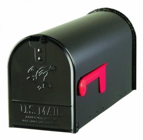 Solar Group Standard Size Galvanized Steel Rural Mailbox