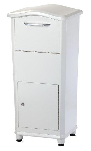 Architectural Mailboxes 6900w Elephantrunk Parcel Drop Box White