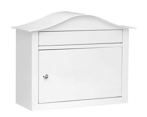 Architectural Mailboxes Lunada Wall Mailbox White