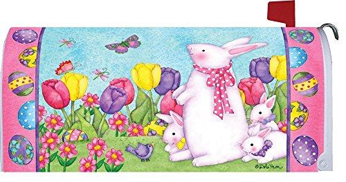 Custom Decor Bunny Birdhouse Mailbox Cover