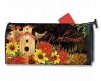 Garden Birdhouse Mailbox Cover