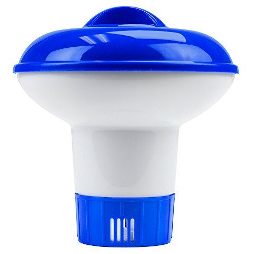 Mini Floating Chlorine Dispenser For 1-inch Tablets By Splashtech