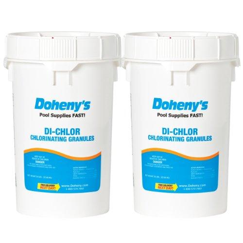 Dohenys Di-chlorgranular Chlorine - 100 Lbs 2-50 Lb