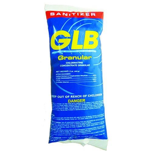 GLB 71001 Stabilized Granular Chlorine 1LB