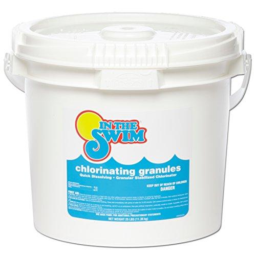 In The Swim Granular Pool Chlorine 25 Lbs