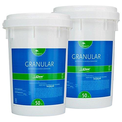 Rx Clear Granular Chlorine 100 Lbs