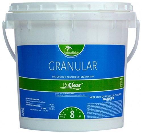 Rx Clear Granular Chlorine 8 Lbs
