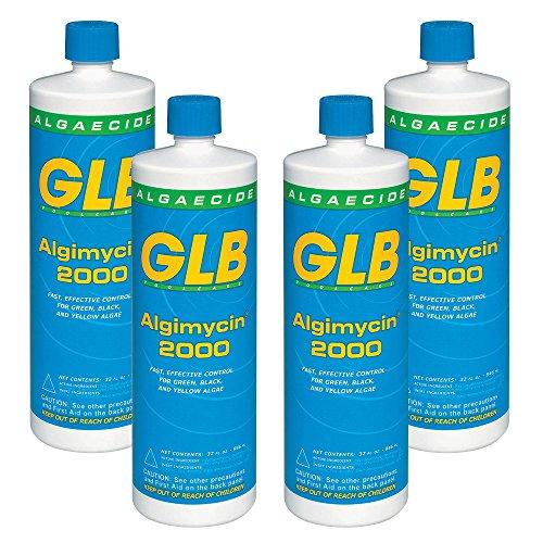 GLB 71104A-04 Algimycin 2000 Algaecide for Swimming Pools 4 Pack 1 quart