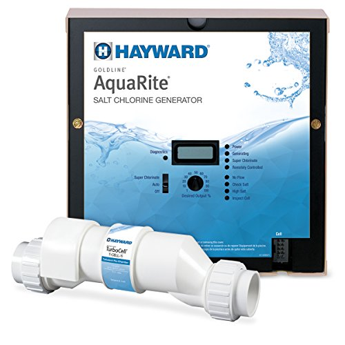 Hayward AQR15 AquaRite Salt Chlorination System for In-Ground Pools up to 40000 Gallons