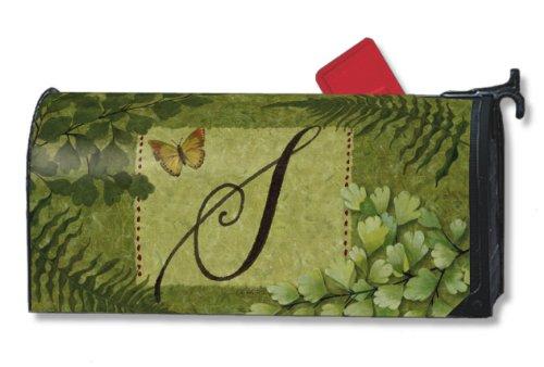 Natures Script Monogram S Magnetic Mailbox Cover