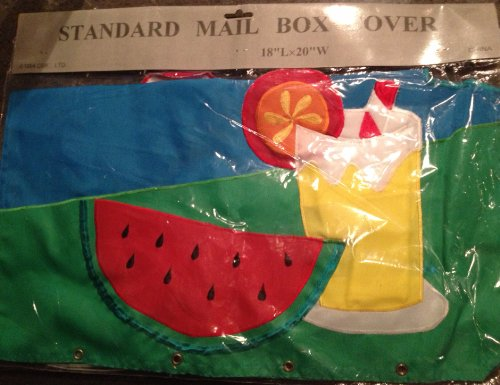 Summer Mailbox Cover 18 L X 20 W