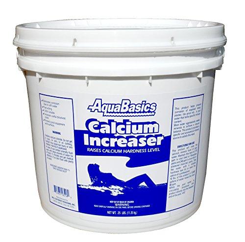 AQUA BASICS 1851P Calcium Increaser Pail 25-Pound