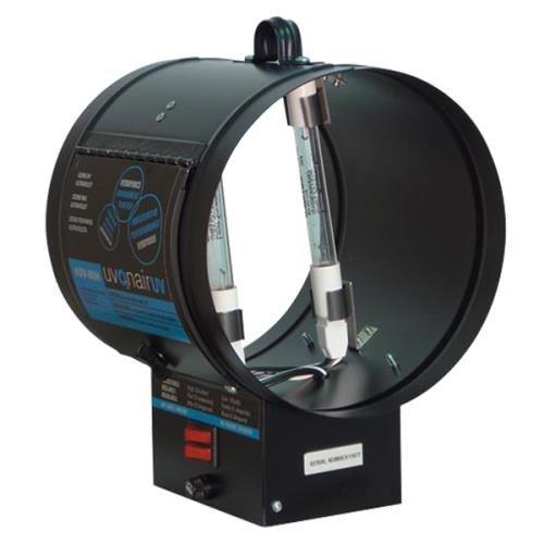 Uvonair Uv Inline Duct Booster Ozonator 8in - 2 Bulb