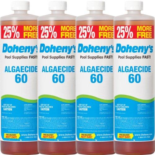 Dohenys Concentrated Algaecide 60 - 4 Quarts Plus 32 Oz Free 4- 40 Oz Bottles