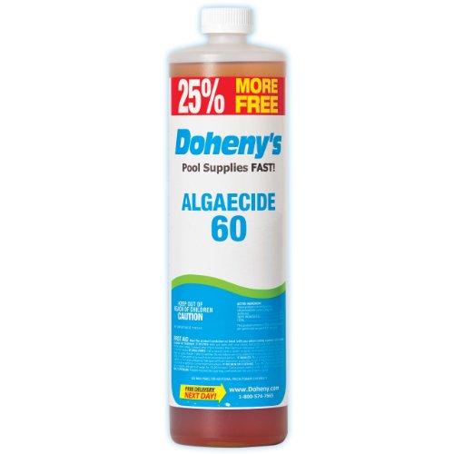 Dohenys Concentrated Pool Algaecide 60 1-quart Plus 8 Bonus Ounces Bottle