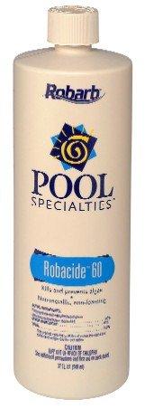Robarb Pool Specialties Robacide 60 1 Quart Algaecide 32oz