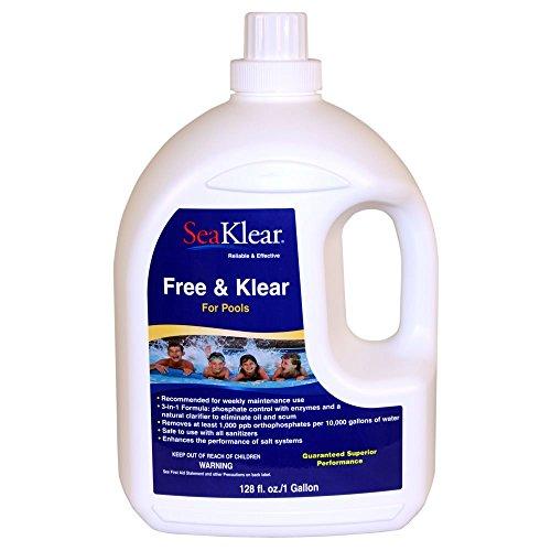 SeaKlear Free Klear 1 Gallon Bottle
