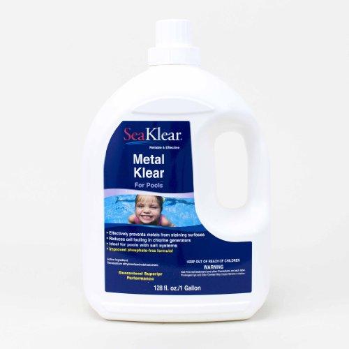 SeaKlear Metal Klear Stain Treatment Solution 1-Gallon
