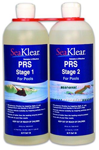 Seaklear Prs 2 Part Ultra Clarifier  2  Quart Bottles