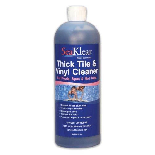 Seaklear Thick Tileamp Vinyl Cleaner 1 Quart Bottle