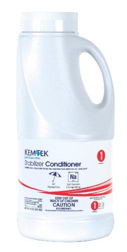 Kem-tek 024-6 Chlorine Stabilizer Pool And Spa Chemicals 4 Pound