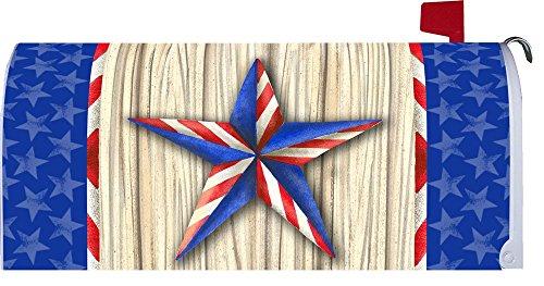 Patriotic Star  - Patriotic - Mailbox Makeover - Vinyl Magnetic Cover