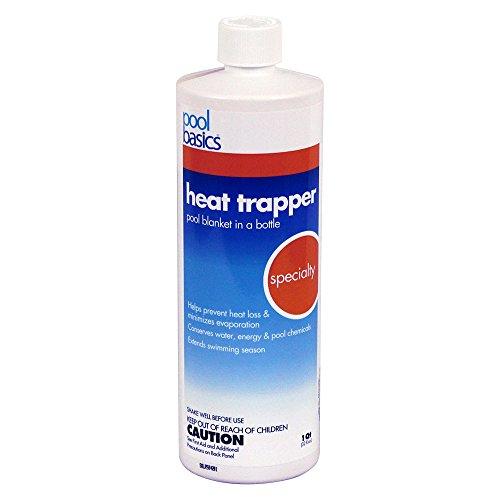 Pool Basics 2706PB Heat Trapper Pool Solar Blanket In A Bottle Liquid Solar Cover 1-Quart 1-Pack