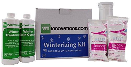 Swimming Pool Winterizing Chemical Closing Kit - Up To 20000 Gallons  Closekit-20k