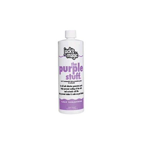 Jacks Magic The Purple Stuff Pool Stain and Scale Preventer - 2 x 1 Quarts