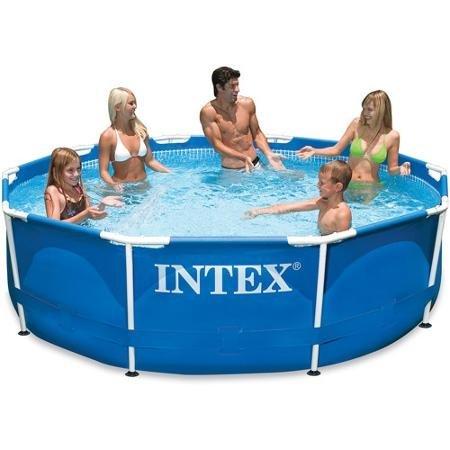 Intex 10 X 30&quot Metal Frame Swimming Pool