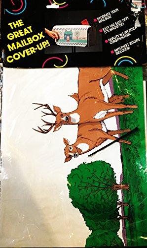 Mailbox Cover-Up Decorative Mailbox Wrap - Wildlife Scene Art