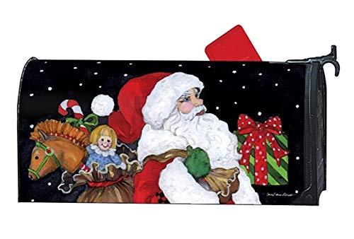 Studio M Christmas Outdoor Mailbox Cover MailWrap Believe in Santa