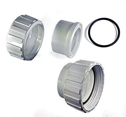 Maslin Universal 2 PVC Pool Spa Hot Tub Pump Union Kit2 Inch Union Adapter Kit Replacement Pool Spa