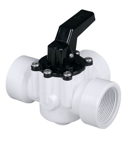3 Way Fibropool Diverter Pool Valve 1 12&quot Female Threaded