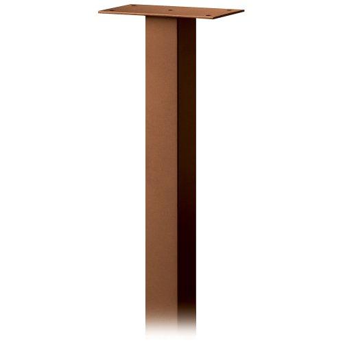 4385D-COP Standard Pedestal In-Ground Mounted for Designer Roadside Mailbox Copper