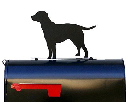NewnanMetalWorks Labrador Retriever Mailbox TopperSignPlaque - Mail Box - Made in USA