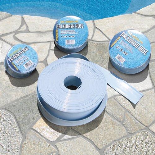 Poolmaster 32164 Swimming Pool Backwash Filter Hose - 25 1 12