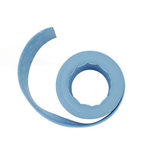 Light Blue Swimming Pool Filter Backwash Hose - 50 X 15&quot