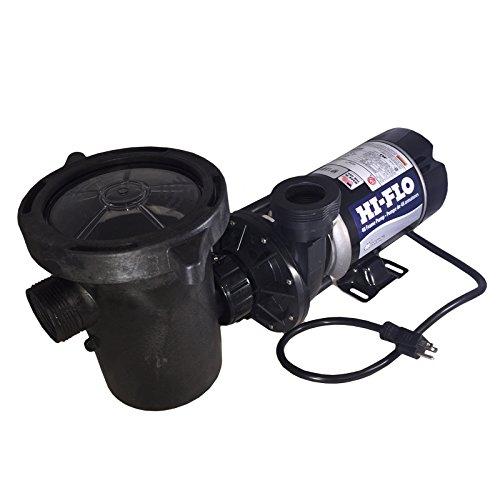 Waterway Plastics Ph2200-6 2 Hp 2-speed 34501725 Rpm 115v Above Ground Pool Pump With Large Debris