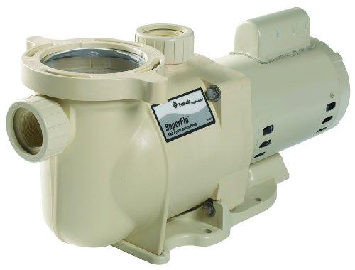 Pentair 340042 Superflo High Performance Energy Efficient Two Speed Pool Pump 1 Horsepower 230 Volt 1 Phase