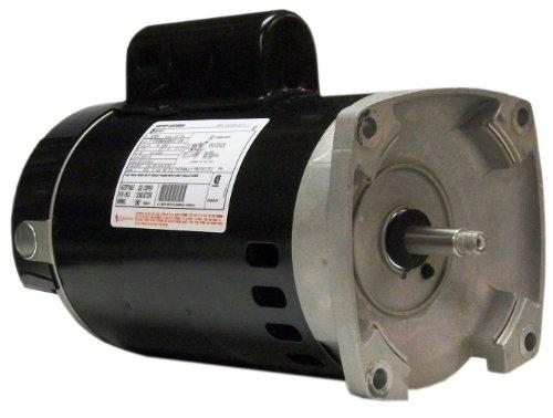 Century B2854 1-12 HP 3450 RPM 80160 Amps 11 Service Factor 56Y Frame PSC ODP Enclosure Square Flange Pool Motor