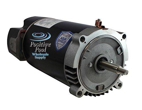 Nidec AST125 125 Horsepower 56J C-Flange Replacement Swimming Pool Pump Motor