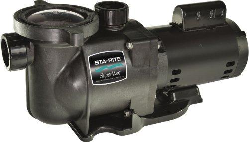 Pentair Sta-Rite N2-1-12A HP SuperMax Energy Efficient Dual Low Speed High Performance Inground Pool Pump 1-12 HP 230-Volt