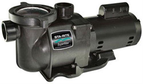 Pentair Sta-Rite N2-1A HP SuperMax Energy Efficient Dual Low Speed High Performance Inground Pool Pump 1 HP 230-Volt